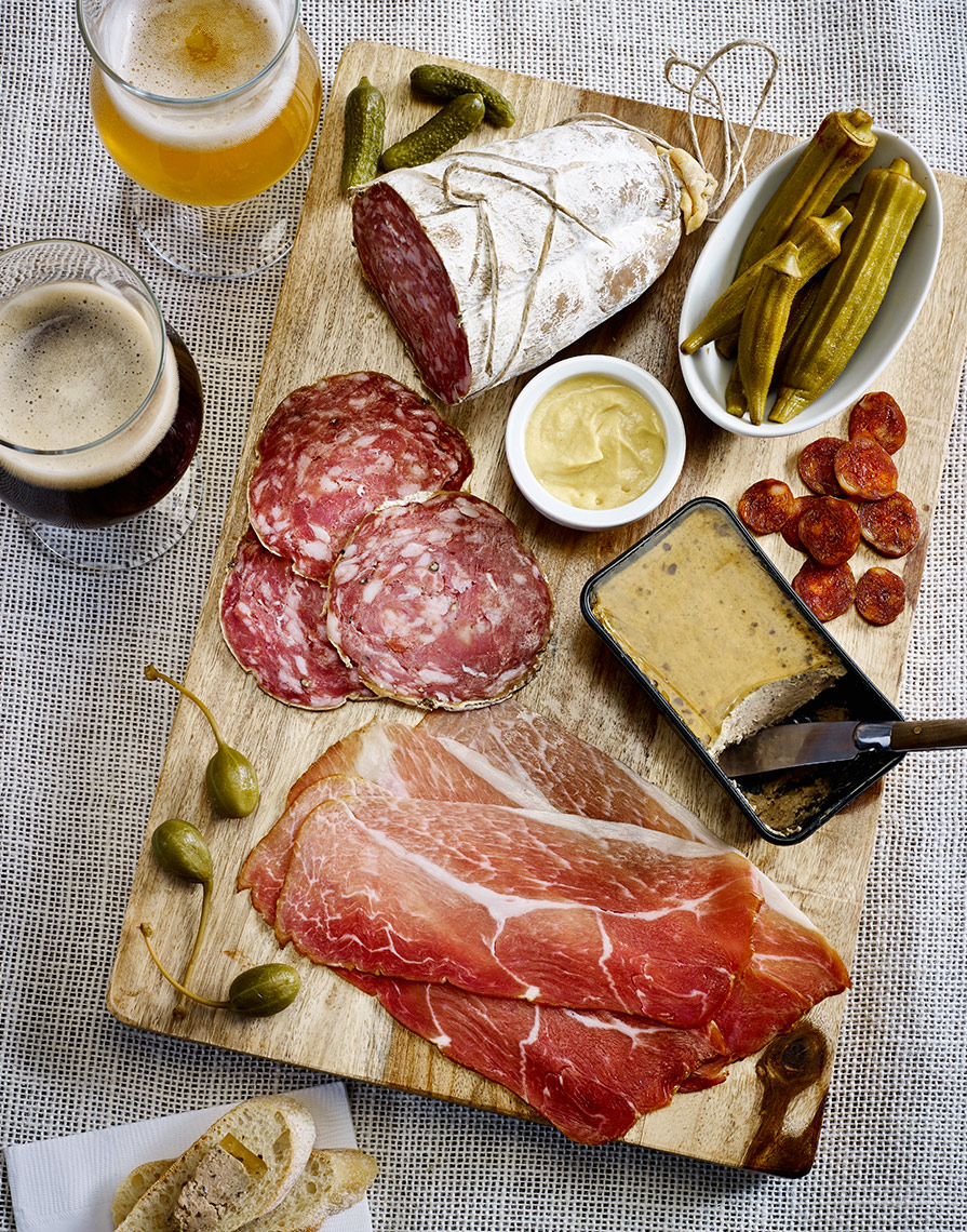 Charcuterie-and-Beer